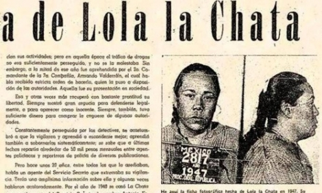 "Dolores Estévez Zulueta, aka ""Lola la Chata"" (1908-1959)"